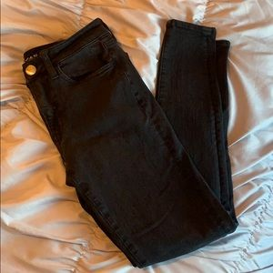 """American Eagle High Waisted Blank Jeans """"Jeggings"""""""